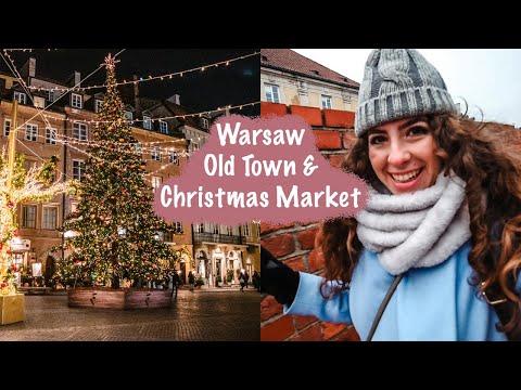 Exploring Warsaw Old Town - Warsaw Christmas Market | Wilanow Palace Day Trip