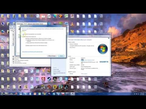 How To Turn On Automatic Updates On Device Drivers On WIndows 7,8,10