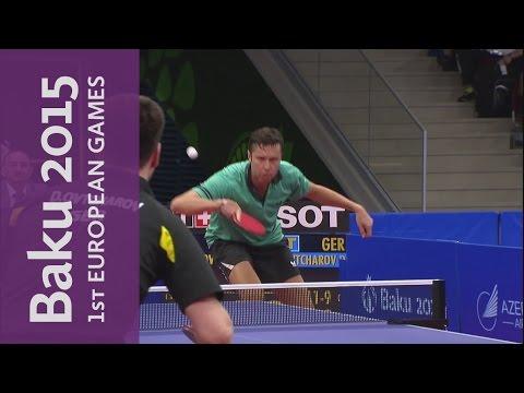 Men's Singles Gold Final | Table Tennis | Baku 2015 European Games