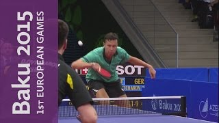 Men's Singles Gold Final | Table Tennis | Baku 2015 European Games