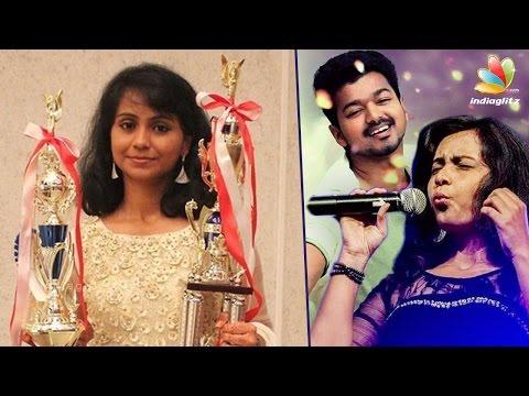 'Jilla' Whistler Shweta Suresh Becomes World Whistling Champion | Interview