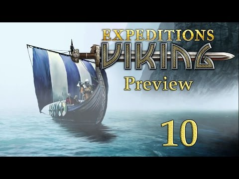 "Let's Preview ""Expeditions: Viking"" Part 10 - Skjern Forest"