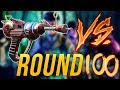 Ray Gun vs Round 100 Zombie | Killing a Zombie at Round 100 in Black Ops 3 Zombies