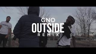 GNO - Outside Today (Remix) (Official Music Video) [Shot By @EAZY_MAX] - Stafaband