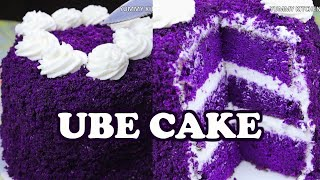 UBE CAKE ala Red Ribbon