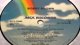 Bobby Brown   My Prerogative Extended Remix