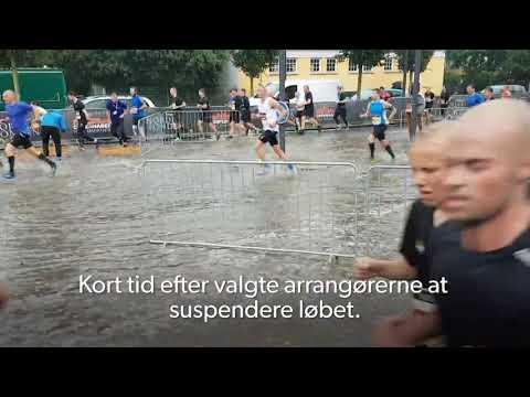 Halvmaraton i København aflyst efter voldsom regn