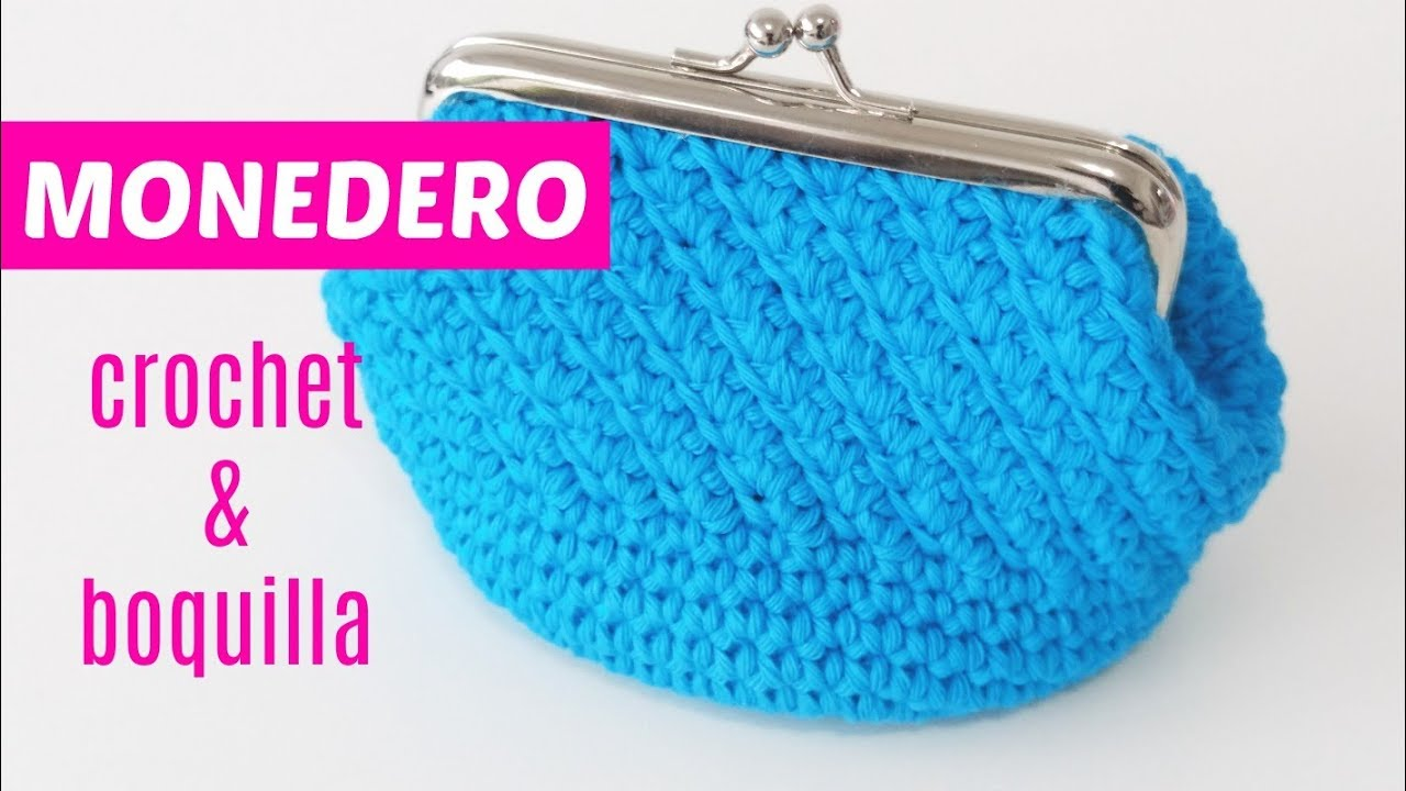 en venta en línea lujo buscar Crochet purse with nozzle