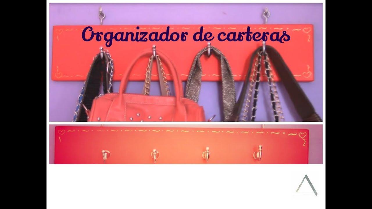 Organizador de carteras d i y organizador de bolsos - Organizador de carteras ...