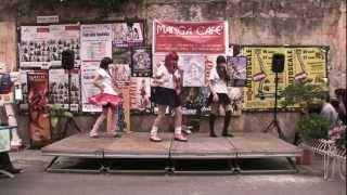TIGERxTOKYO: dancing 'CANDYCANDY + BABYMETAL - Manga Cafè