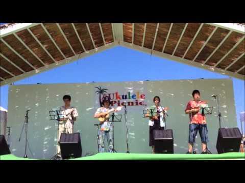 プランクトンず 2014 ukulele picnic Yokohama