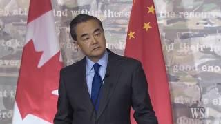 Ngoại trưởng Trung Quốc nổi đóa với phóng viên Canada