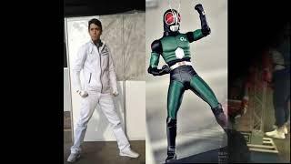 Download Jiro Okamoto Ensinando A Coreografia Do Kamen Rider