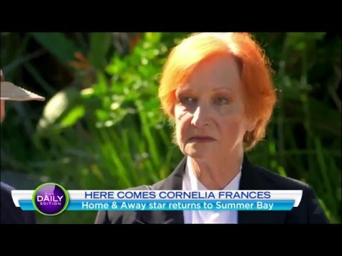 Cornelia Frances Headed Back To Summer Bay