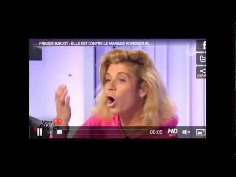 Mariage gay, Frigide Barjot humiliée chez Morandini !