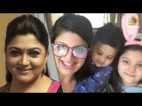 Khushboo explains reports on Rambha divorce   Hot Tamil Cinema News