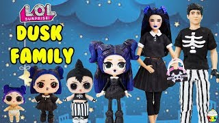 Dusk Family DIY Custom Fun Craft With Barbie and Ken Cupcake Kids Club