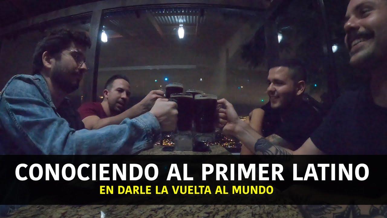 Conociendo Al Primer Latino En Darle La Vuelta Al Mundo