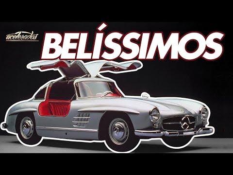 Os 10 carros MAIS BONITOS da história! - AceleLista #42 | ACELERADOS