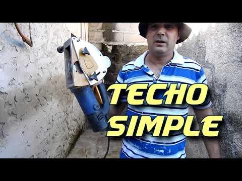 Como hacer un techo simple