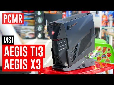 MSI Aegis Ti3 & X3 #PCMR