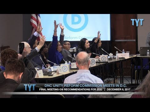 DNC Unity Starts With 60% Fewer Super-Delegates