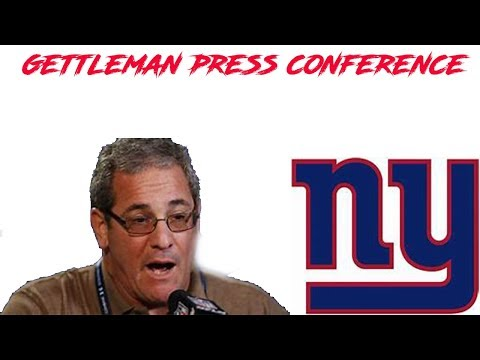 New York Giants  Dave Gettleman has press conference discussing Odell Beckham trade & future of NYG