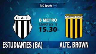 Club Atlético Est. vs Almirante Brown full match
