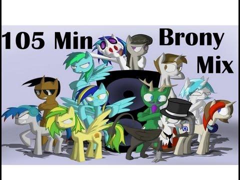 Brony Dance/Dubstep  Music Mix - Popular brony musicans (Check description)