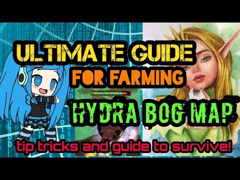 ARCANE LEGENDS: ULTIMATE GUIDE TO FARM HYDRA BOG MAP (TIPS TRICKS AND GUIDE TO SURVIVE 🤑🤑