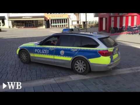 Während Der Evakuierung In Paderborn