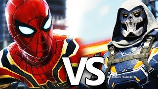 Infinity War Iron Spider VS Taskmaster Battle | Marvel's Spider-Man