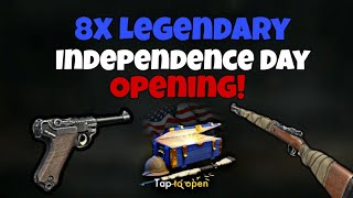 8x Legendary Independence Day Chest Opening!