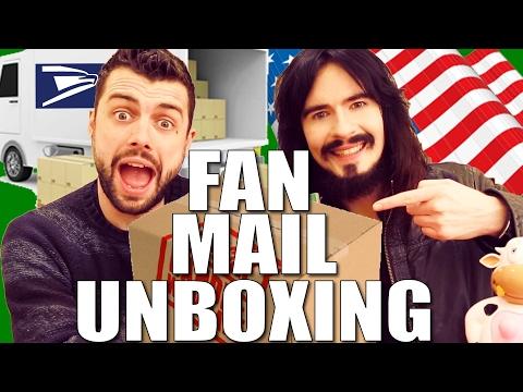 Irish People Open 'American Fan Mail' - (( UnBoxing )) - ARKANSAS!!