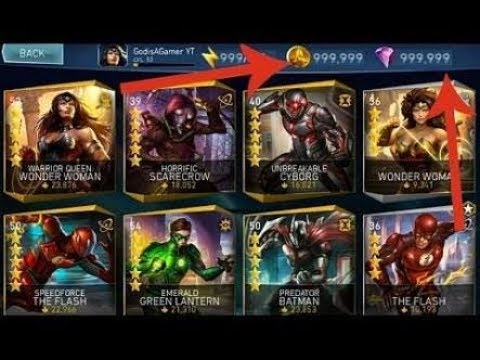 injustice hacked apk and data