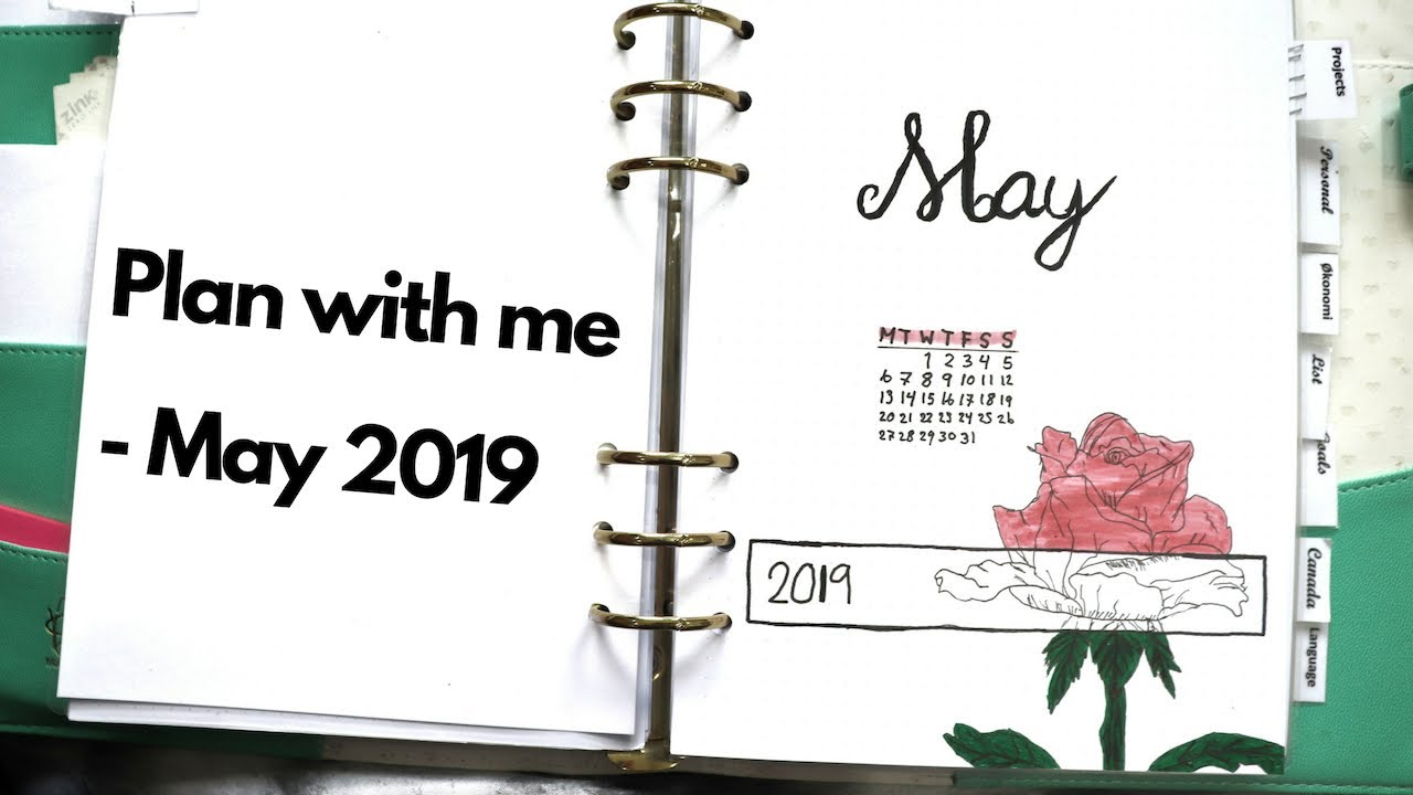 Download PLAN WITH ME   MAY 2019