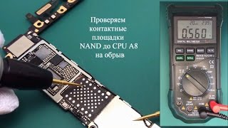 Диагностика iPhone 6 DFU Error 9 40 4013 4014 CPU- NAND fix ✔️