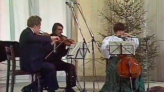 Kagan, Bashmet, Gutman - Beethoven String Trios op. 9 & op. 8 - video 1988