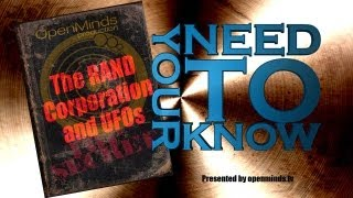 Your Need to Know- The RAND Corporation and UFOs