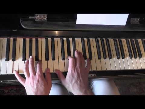 Темная ночь на пианино видеоурок
