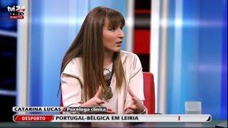 Catarina Lucas em debate sobre o terrorismo - TVI e TVI24