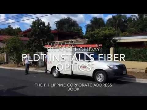 PLDT INSTALLS FIBER OPTICS ON APEC HOLIDAY