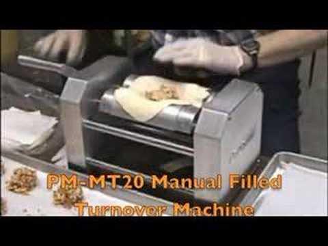 pastry turnover machine
