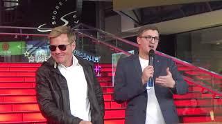 Церемония подписи именной звезды  Дитер Болен  в ТРК VEGAS(Вегас Мякинино,Times Square,14.3.19)