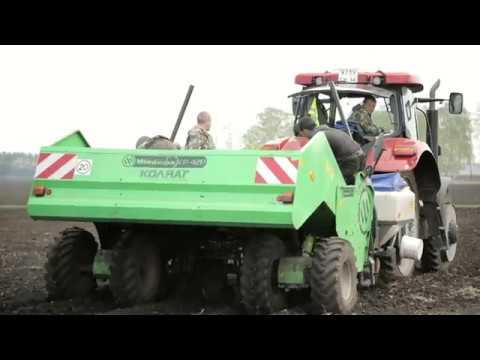 Уральские Фермеры садят картофель. Удачи!