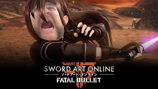 Sword Art Online Fatal Bullet. Фатальный балет начало.