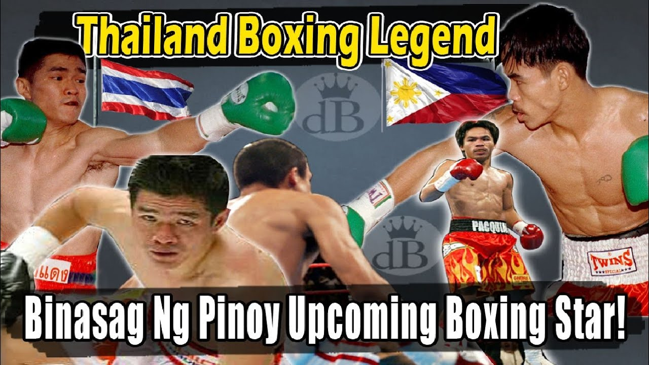 ANG PINOY NA BUMASAG SA NATIONAL HERO NG THAILAND! | Pacquiao vs Sasakul Dec 4, 1998 Full Fight!