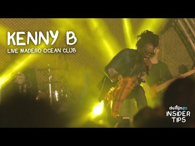KENNY B LIVE @ MADERO OCEAN CLUB CURAÇAO