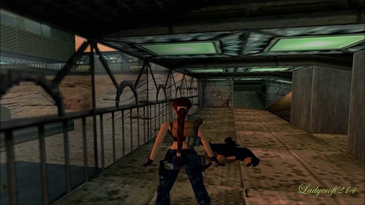 tomb raider iii adventures of lara croft level 7 area 51 youtube