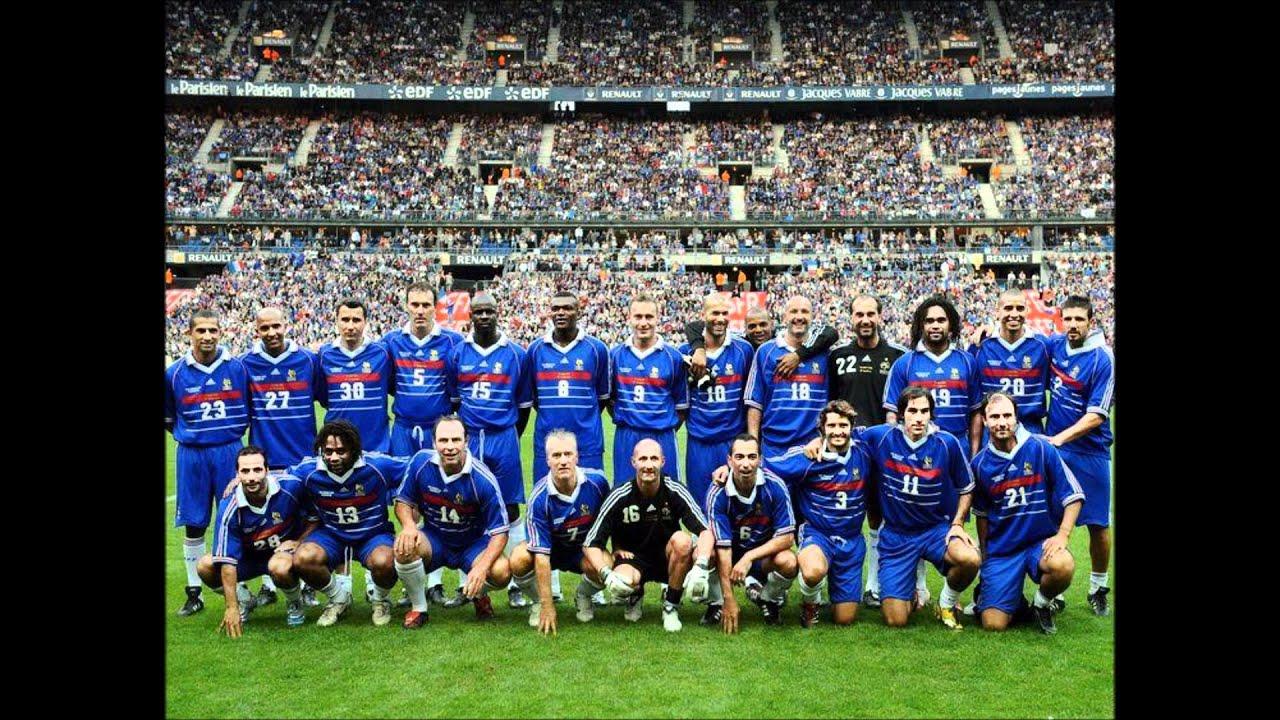 Coupe du monde 98 musique youtube - Coupe du monde 1994 equipe de france ...